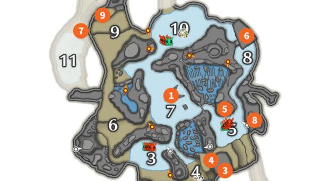 寒冷群島先人map