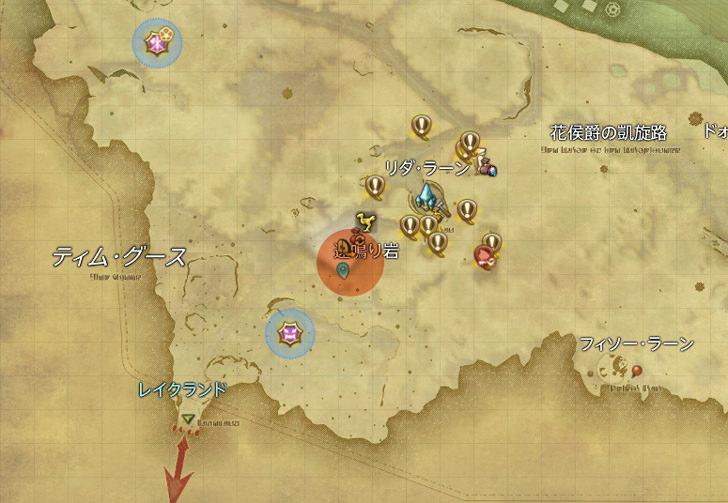 ピクシー族地図
