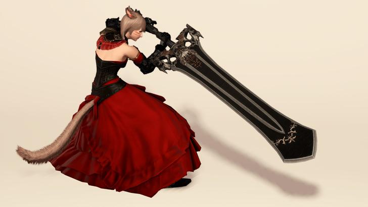 暗黒ジャッジ武器