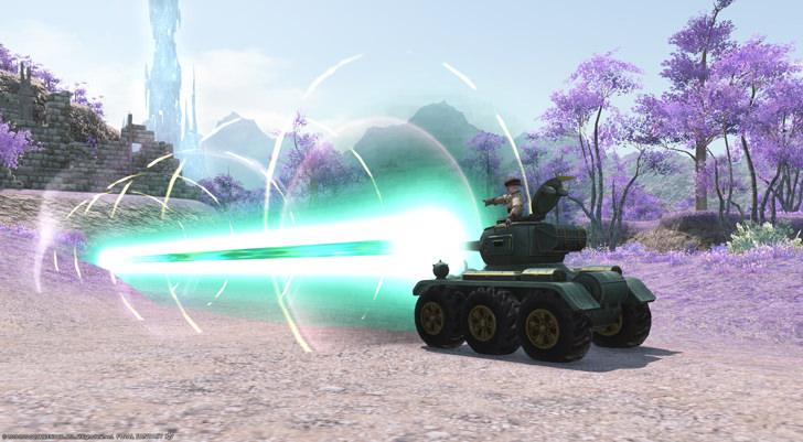 ドワーフ戦車のエフェクト