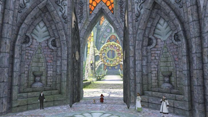 十二神大聖堂で祈る